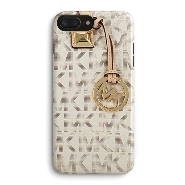 aa59516d7f84 Michael Kors Mk Bag Texture Print iPhone 8 Plus Case