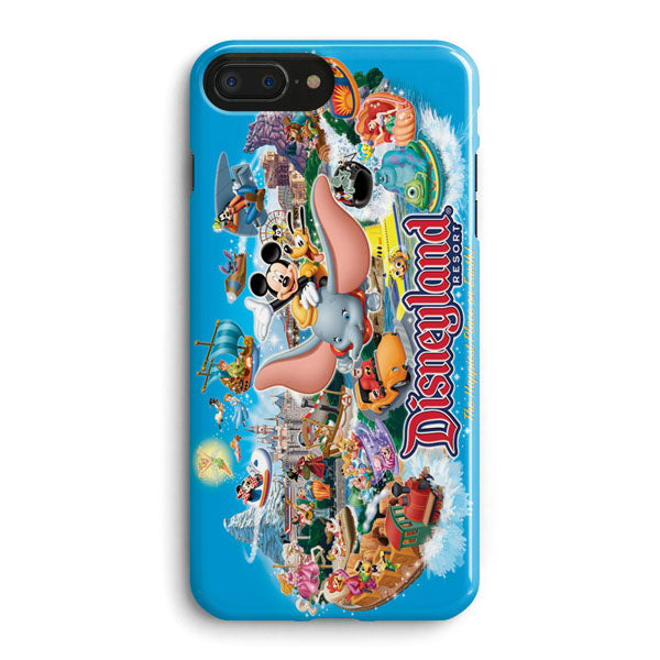 buy online 81967 1dd3a Mickey And Dumbo Take Flight At Disney Parks iPhone 8 Plus Case | Casescraft