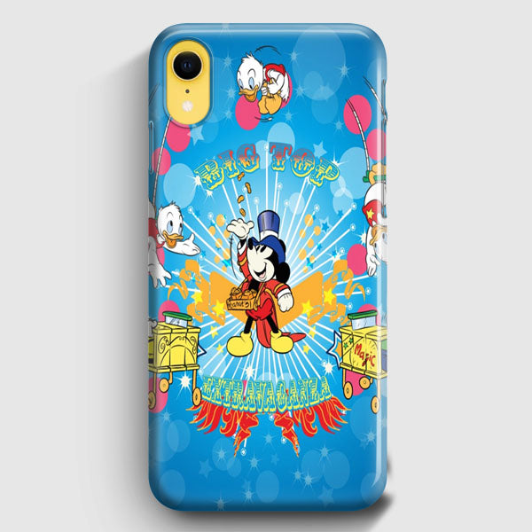 size 40 72688 7fd64 Mickey Mouse And Donald Duck iPhone XR Case | Casescraft