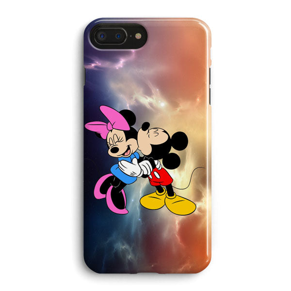 official photos bb503 aca0d Mickey Mouse And Minnie Mouse Cute Couple Cartoon iPhone 8 Plus Case |  Casescraft