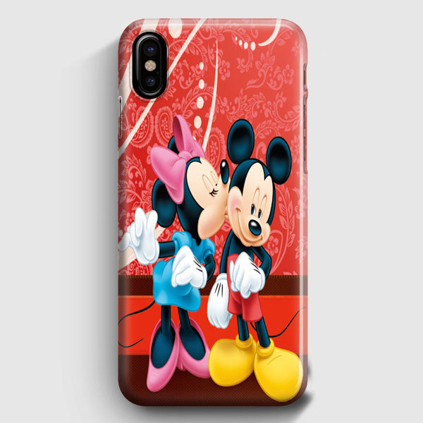 cheap for discount c49a9 b5404 Minnie Mouse Kiss Mickey Mouse iPhone X Case | Casescraft