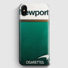 Newport Cigarette Green iPhone X Case | Casescraft