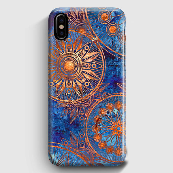 Christmas Iphone X Case.Old Mandala Printing Christmas Gifts 030 Iphone X Case Casescraft