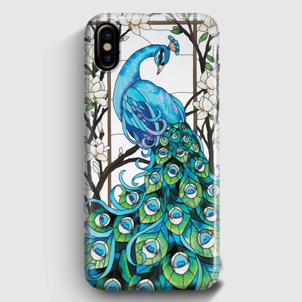 new product a2d23 9ab67 Peacock Tiffany iPhone X Case | Casescraft
