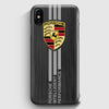 Porsche Car Logo iPhone X Case | Casescraft