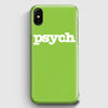 Psych Tv Series iPhone X Case | Casescraft