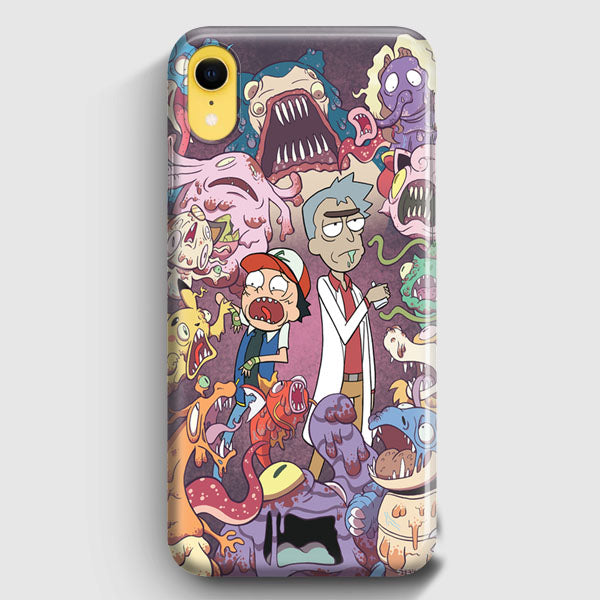 Rick And Morty iPhone XR Case | Casescraft