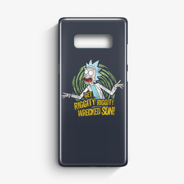 Rick And Morty Stupid Face Samsung Galaxy S10 Plus Case | Casescraft