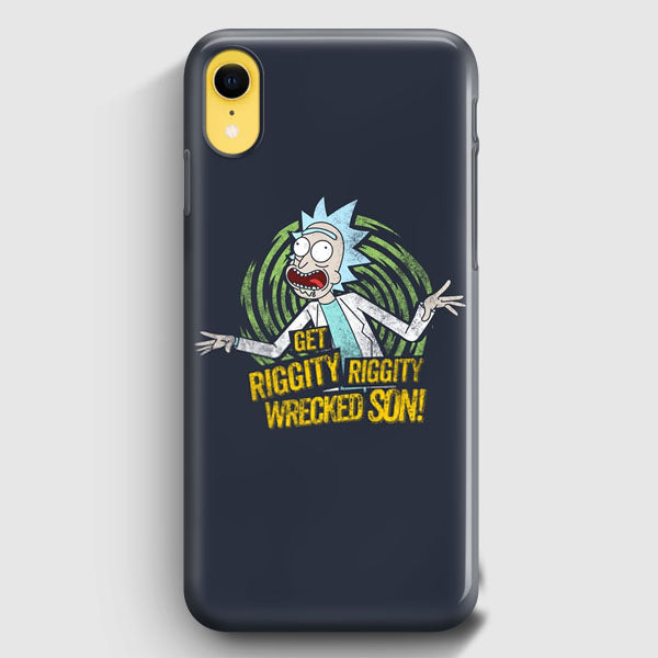Rick And Morty Stupid Face iPhone XR Case | Casescraft