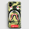 Shark Camo Bathing Bape Supreme iPhone X Case | Casescraft
