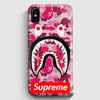 Supreme Bape Camo Shark iPhone X Case | Casescraft