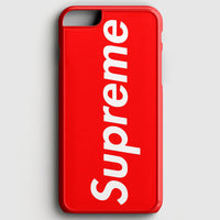 Supreme New York Clothing Skateboarding iPhone 7 Case | Casescraft