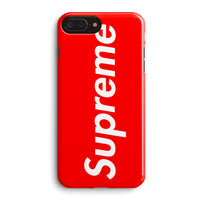 Supreme New York Clothing Skateboarding iPhone 8 Plus Case | Casescraft