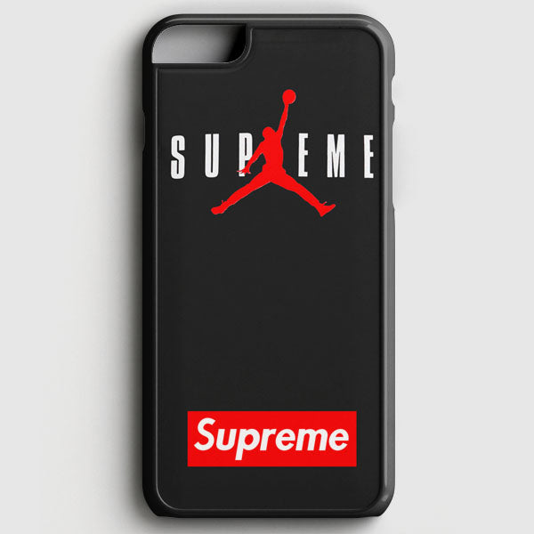 Supreme X Jordan Black iPhone 7 Case | Casescraft