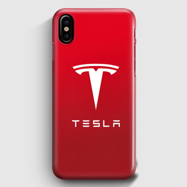 san francisco c81ce 8440b Tesla Motors Brushed Metal Logo iPhone X Case | Casescraft