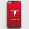 Tesla Motors Brushed Metal Logo iPhone 7 Case | Casescraft