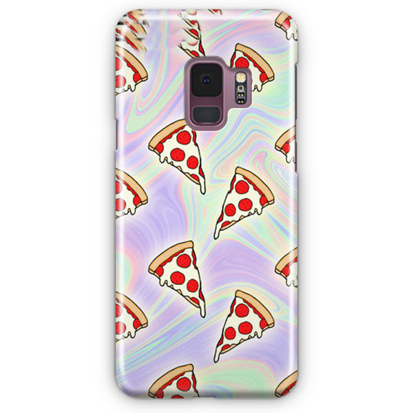 Tie Dye Pizza Slices Samsung Galaxy S9 Case | Casescraft