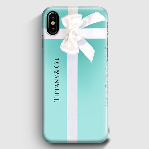 the latest 20818 80afa Tiffany And Co Exclusive iPhone X Case | Casescraft