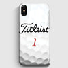 Titleist Tour Golf Balls iPhone X Case | Casescraft