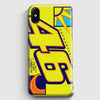 Valentino Rossi Vr46 Winter iPhone X Case | Casescraft