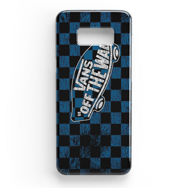 1412bd0bb55e0c Vans Off The Wall Skate Shoes Samsung Galaxy S8 Case