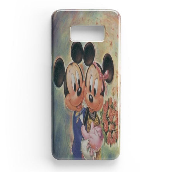 finest selection 6786c 045a0 Vintage Mickey Mouse And Minnie Mouse Samsung Galaxy S8 Case | Casescraft