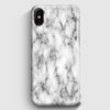 White Marble Texture iPhone X Case | Casescraft
