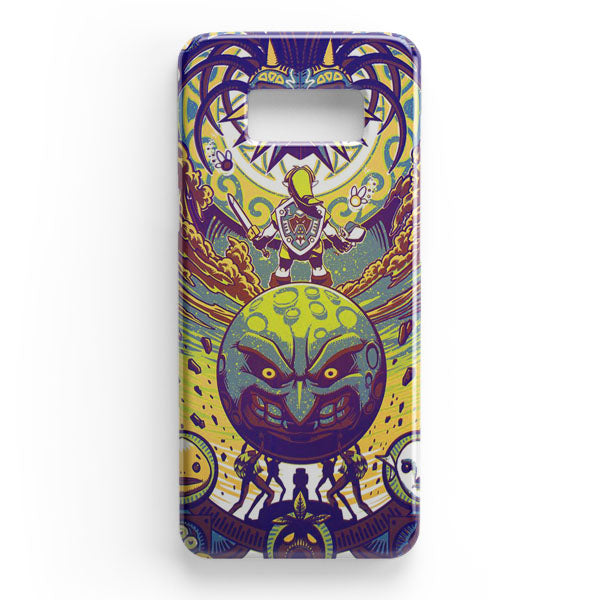 Zelda Vs Majora Mask Samsung Galaxy S8 Plus Case | Casescraft