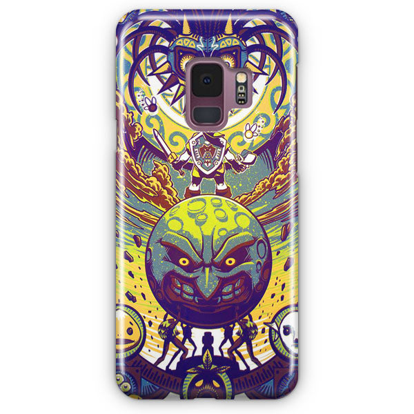 Zelda Vs Majora Mask Samsung Galaxy S9 Plus Case | Casescraft
