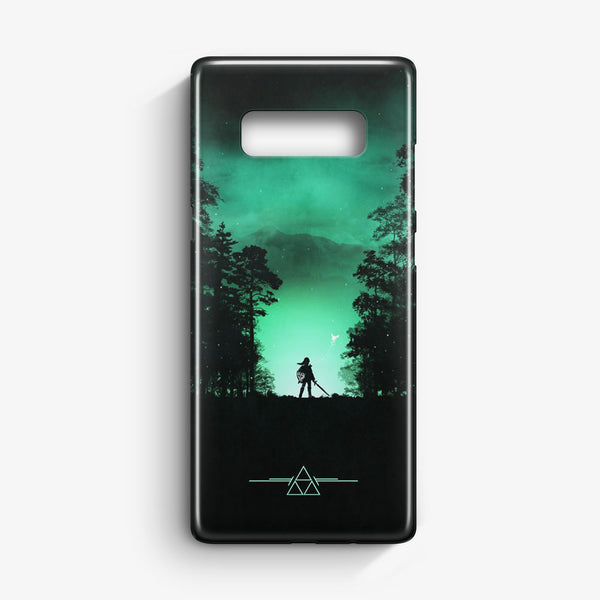 Zelda Vs Majora Mask In Nebula Space Samsung Galaxy S10e Case | Casescraft