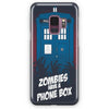 Zombie Have The Phone Box Tardis Samsung Galaxy S9 Case | Casescraft