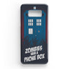 Zombie Have The Phone Box Tardis Samsung Galaxy S8 Case | Casescraft