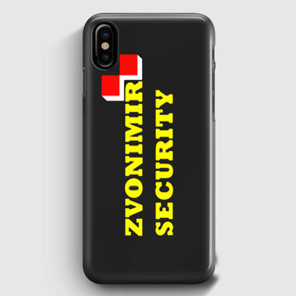 Zvonimir Security Mirko Crocop Team Pride Mma iPhone XS Max Case | Casescraft