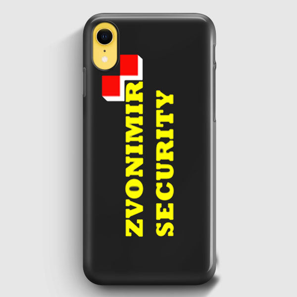 Zvonimir Security Mirko Crocop Team Pride Mma iPhone XR Case | Casescraft