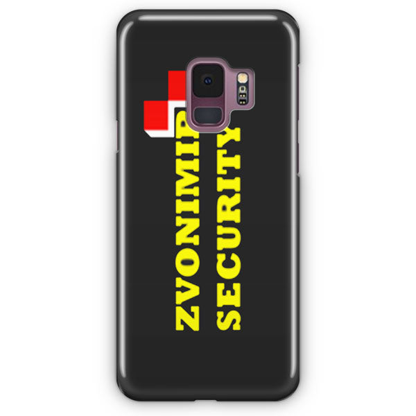 Zvonimir Security Mirko Crocop Team Pride Mma Samsung Galaxy S9 Plus Case | Casescraft
