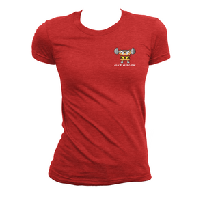 $10 Women's Burger & Barbell in HD Tee