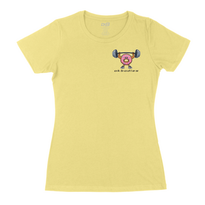 Donut and Barbell Tee HD (W)