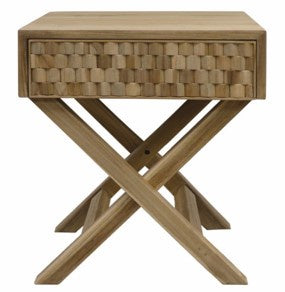 Nepean Natural Bedside Table