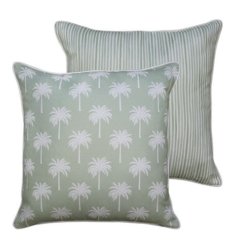 Tropic Light Green Cushion