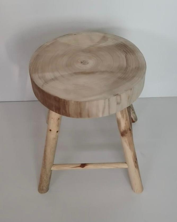 Wood Milking Stool