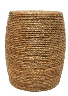 Woven Top Stool
