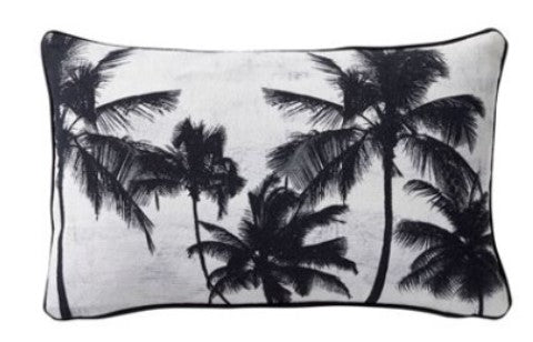 Bahama Palm  Trees Cushion
