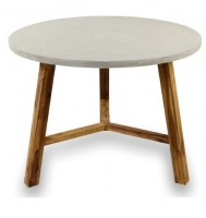 Aria Concrete Tex Side Table