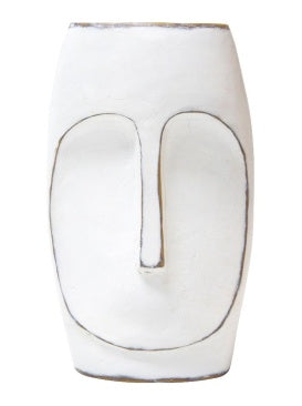 Tahiti White Figure