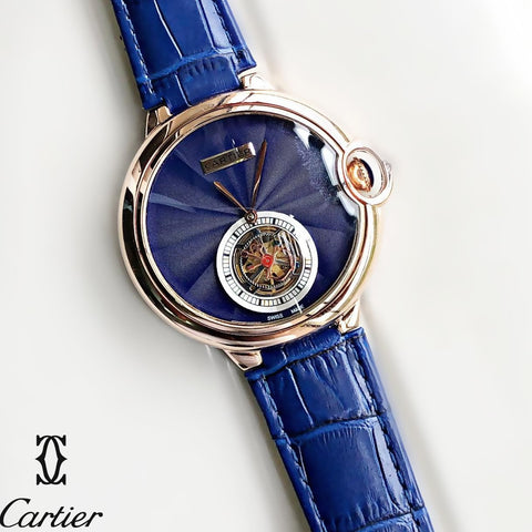 Buy first copy Ballon Blue De Cartier Flying Tourbillon watches online | DOPESHOP