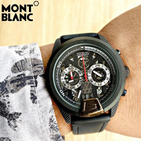Buy first copy Mont Blanc watches online | DOPESHOP