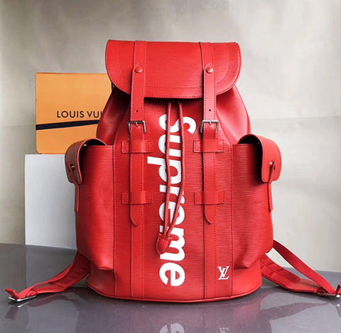 Buy first copy Supreme Louis Vuitton Backpack online | DOPESHOP
