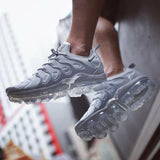 Buy first copy Nike Vapormax Plus Triple White shoes online | DOPESHOP