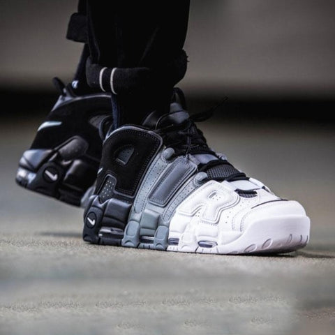Buy first copy Nike Air Uptempo Tri Black shoes online | DOPESHOP