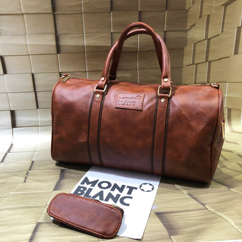 Buy first copy Mont Blanc Duffle Bag online | DOPESHOP